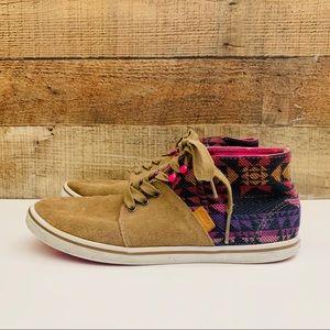 Vans Limited Edition Suede Aztec Shoes